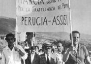 Due foto dell'archivio di Pio Baldelli